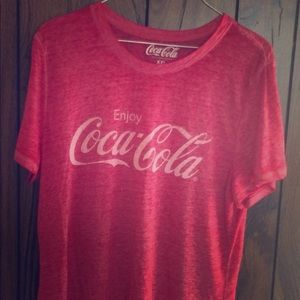 Burnout Coca Cola tee XXL NWOT